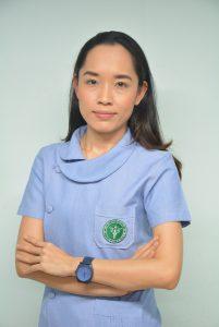 นางสาวสุวิมล มูลเขียน หัวหน้ากลุ่มงานแพทย์แผนไทย และการแพทย์ทางเลือก